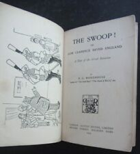 P. G. Wodehouse, The Swoop! 1st Edition 1909, Original Book in Facsimile Covers
