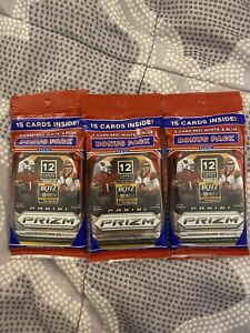 2020 Panini Prizm NFL Cello Pack (3 Pack Lot) New Factory Sealed