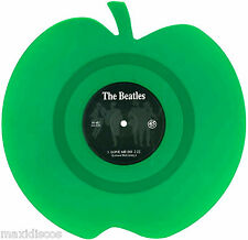 """7"""" - The Beatles - Love Me Do (Vinyl, Green Apple, Shaped, Limited Edition) MINT"""