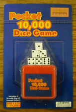 FUNDEX : LOT OF 2 POCKET DICE GAME  - 10,000  - NEW -      #ZFUN-4528