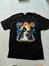 True Vintage 1987 Def Leppard Hysteria Concert Shirt Super Soft Not Repro Sz Xl