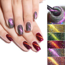 BORN PRETTY 6ml Holographicss Cat Eye Nail Polish Shining Laser Nail Art Varnish
