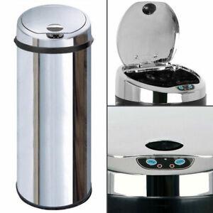 Inmotion Chrome Stainless Steel Auto Sensor Kitchen Waste Dust Bin 30L, 42L, 50L