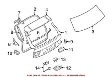 For BMW Genuine Liftgate Rear 41627262544