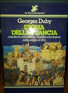 Storia della FRANCIA (2 vol)  INGHILTERRA RUSSIA INDIA   Bompiani