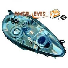 Fiat Grande Punto Angel Eyes Designscheinwerfer Set Chrom H1 Bj.05-08