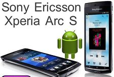 NEW SONY ERICSSON XPERIA ARC S LT15i - 8MP - 3G - GPS - BLACK - UNLOCKED