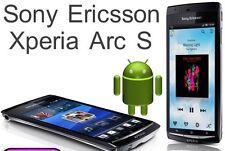 Nuevo Sony Ericsson Xperia Arc S LT15i - 8MP - 3G-GPS-Negro-Desbloqueado