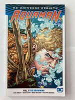 Aquaman Volume 1: The Drowning by Dan Abnett DC Comics Rebirth Graphic Novel TPB