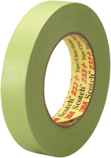3M SCOTCH 233+ PAINTER'S TAPE Sharp Paint Edge GREEN- 24mmx50m Or 48mmx50m