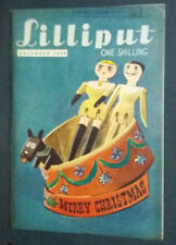 """Revue anglaise """"Lilliput"""" December 1948 Vintage photos, gags, illustrations ..."""