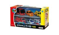 The Little Bus TAYO's Friends 6pcs Sets Mini Car Toys Made in Korea Animation