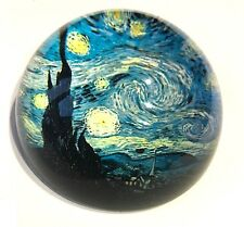 Starry Night Glass Dome Paperweight by Van Gogh PGOG4 Parastone