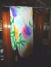 Jams World FAB NEW NWT womens M SKY FLOWER drawstring  BEACH PANTS Scrubs crop