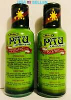 60mL X2=120mL Pau Oil Liniment METHYL SALICYLATE Menthol Back Muscle Joint Pains
