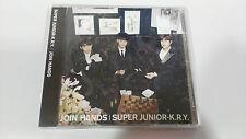 SUPER JUNIOR JOIN HANDS K.R.Y. CD JAPAN EDITION DELUXE 2015 UNIQUE EBAY