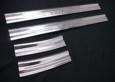 MITSUBISHI TRITON L200 MN ML UTE 05-13 SCUFF PLATE 4 DOOR SILL STAINLESS STEEL
