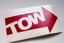 TOW Sticker Decal JDM Vinyl Sticker Subaru Mazda Honda Euro Auto-x AWD Autox
