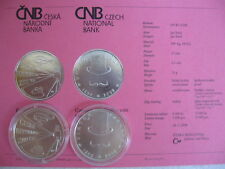 La república checa 2008 200 coronas moneda de plata coin St bu-viktor ponrepo -