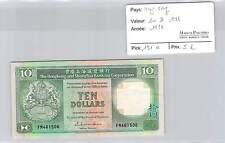BILLET HONG KONG - 10 DOLLARS 1986