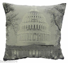 "STUNNING ST PAULS LONDON ENGLAND TAPESTRY COTTON THICK 18"" CUSHION COVER"