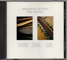 "CYRILLE VERDEAUX ""WINDHAM HILL RECORDS PIANO SAMPLER"" CD 1985"