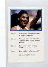 (Jm583-100) RARE,Video Guest ,Florence Griffith Joyner ,Athlete 1999 MINT