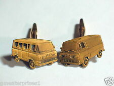 Ford Van Cufflinks  Vintage Ford Employee Award Cuff Links (**)