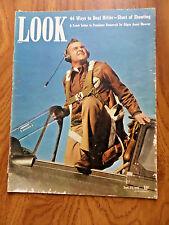 1941 Look Magazine Captain Charles Stark Jr Curtiss P-40 Americans Inc