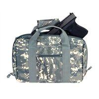 NcStar CPD2903 ACU DIGITAL Discreet Padded Handgun Pistol Storage Case