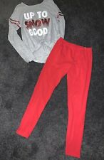 Youth Girl's Size 12/14 Justice/SO Outfit
