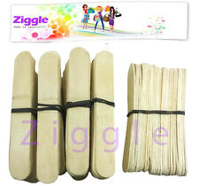 Ziggle 125 Broad Plain Ice cream Sticks craft lowest price popsicle sticks