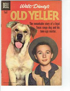 Walt Disney's Comics Old Yeller Corky White Shadow Beaver Valley True Life Books