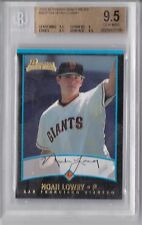 2001 Bowman Draft Noah Lowry Rookie Graded BGS 9.5