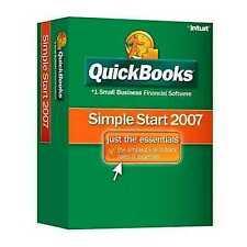 Quickbooks Simple Start Edition 2006 For Windows O/B