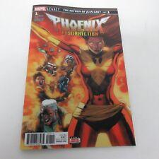 Marvel Legacy Phoenix Resurrection Return of Jean Grey #1 Lenticular Cover NM