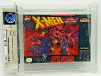 X-Men Mutant Apocalypse New H-Seam Seal Super Nintendo SNES VGA WATA Grade 7.5 A