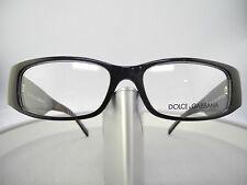 Dolce & Gabbana DG Eyeglasses Glasses 3048-B  501 Black  New