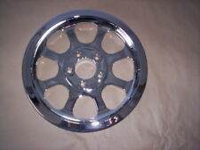 HARLEY DAVIDSON softail fatboy flstf deuce chrome wheel pulley EXCHANGE