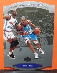 Grant Hill insert card All-Stars 95-96 Upper Deck SP #AS3