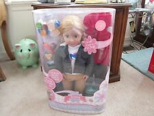 """Our Generation 18"""" Jenny Deluxe Doll Trail Riding Campout Set New in Sealed Box"""