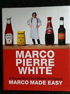 Marco Made Easy by Marco Pierre White Book The Cheap Fast Free Post