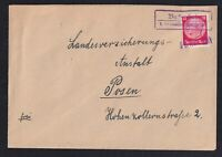 GERMANY, Cover, Provisional cancellation