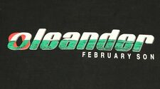 L * vtg 90s 1999 Oleander band February Son t shirt * 68.139