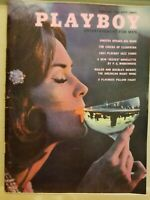 Playboy February 1963 * Free Shipping USA * Very Good Condition