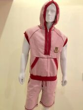 Dolce And Gabbana Men's Sleeves Less T-shirt With Hoodie And Shorts Size M