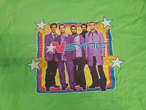 Vintage 2001 NSYNC Justin Timberlake Tour Shirt - Youth XL
