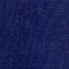 Zweigart 28 Count Cashel Linen Fabric Navy Blue Fat Quarter - 49 X 69cm