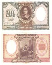 1000 PESETAS  AÑO 1940  MADRID    SERIE A  ( MB12330 )