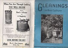 Gleanings In Bee Culture Magazine August 1934